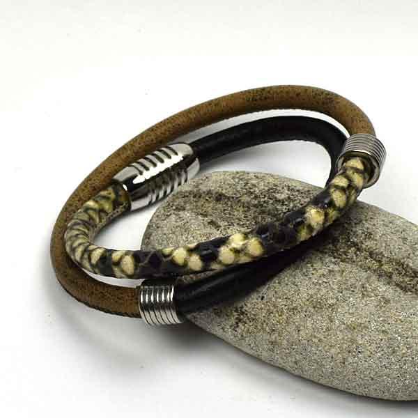 UDSALG - Læderarmbånd lavet efter dine mål. Priser fra 69,-
