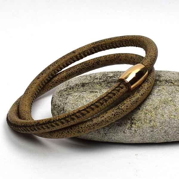 6 mm. vintage armbånd fra Keramikkat.