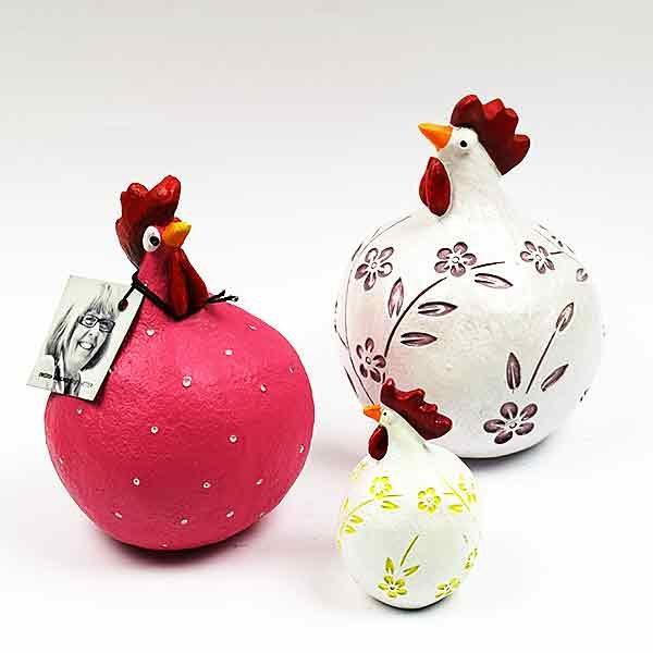 Yndige høns, nye farver fra Keramikkat.