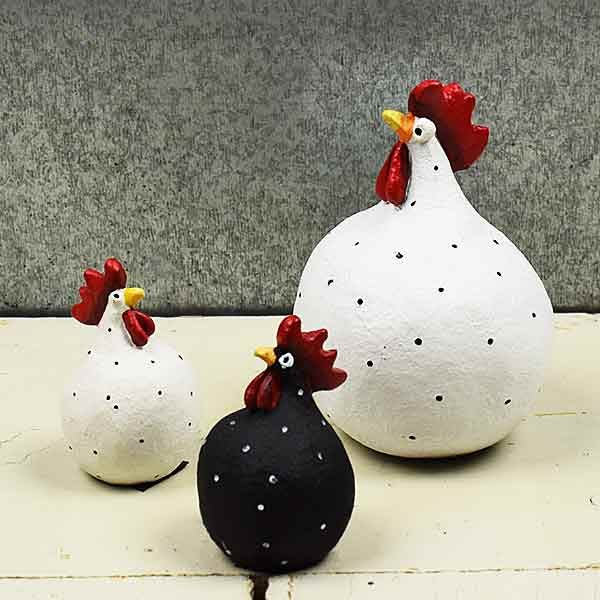 Hønsehold fra Keramikkat